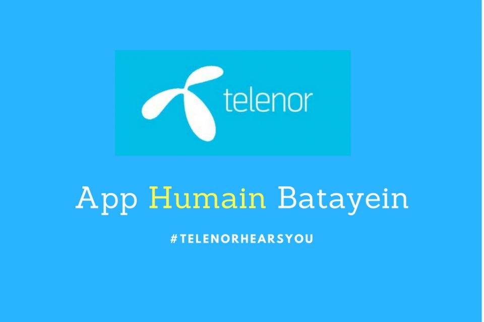 Telenor Hears You But Do You Know?