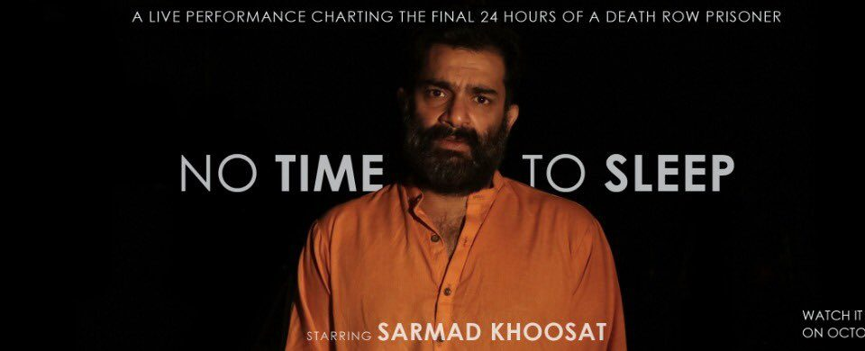 A 24-hour live performance by Sarmad Khoosat, groundbreaking!