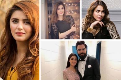 Pakistani celebs on Tik Tok