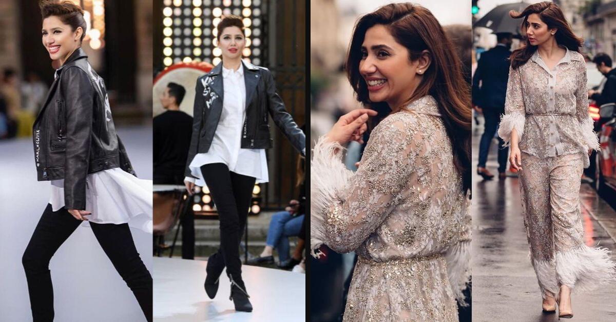 Mahira Khan Paris Fashion Styles