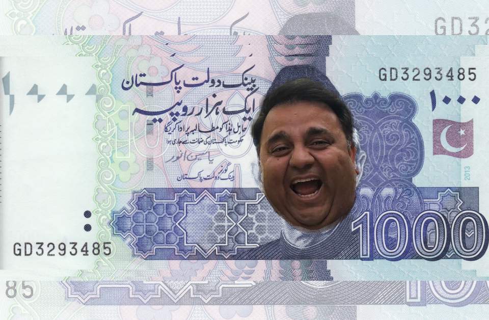 Mo' Money Mo' Problems- Says Fawad Chaudhry