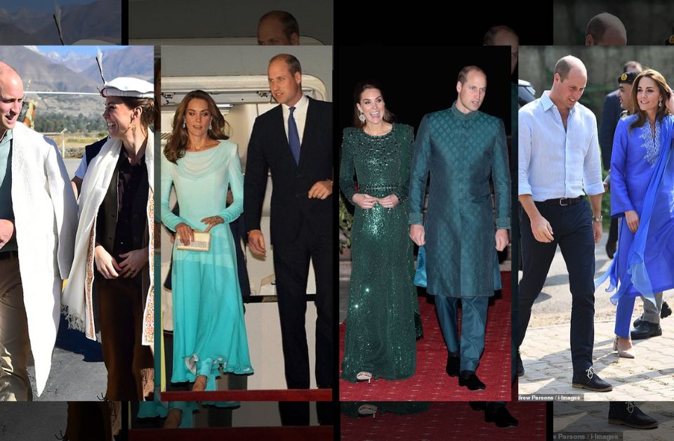Duke and Duchess Cambridge Pakistan Visit