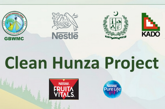 """Nestle will partner with the """"Clean Hunza Project"""" to recycle plastic waste"""