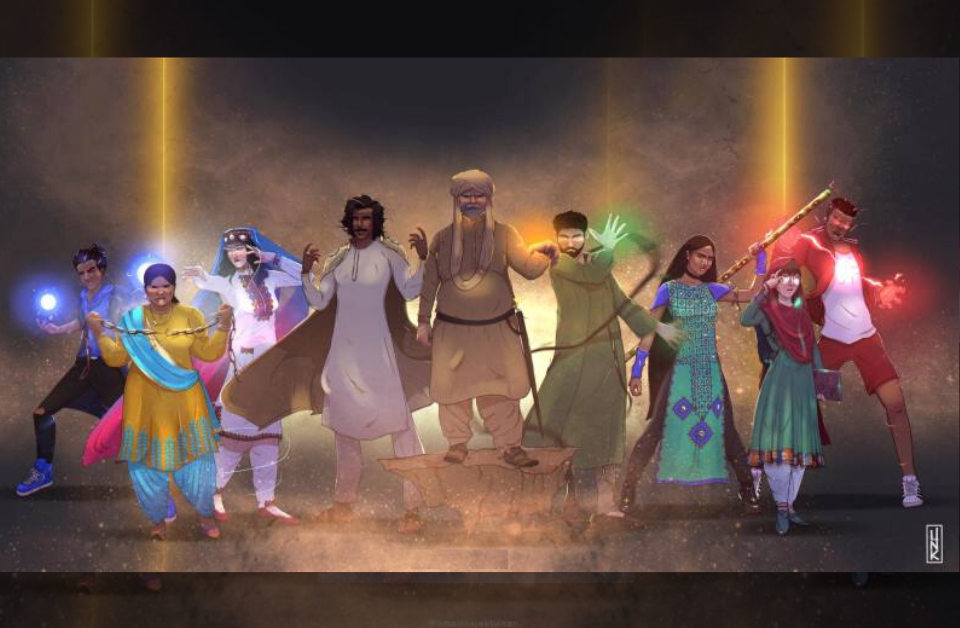 Paak Legion Super Heroes Pakistan