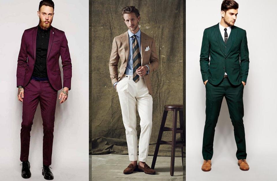Men's Formal Wear Color Combinations