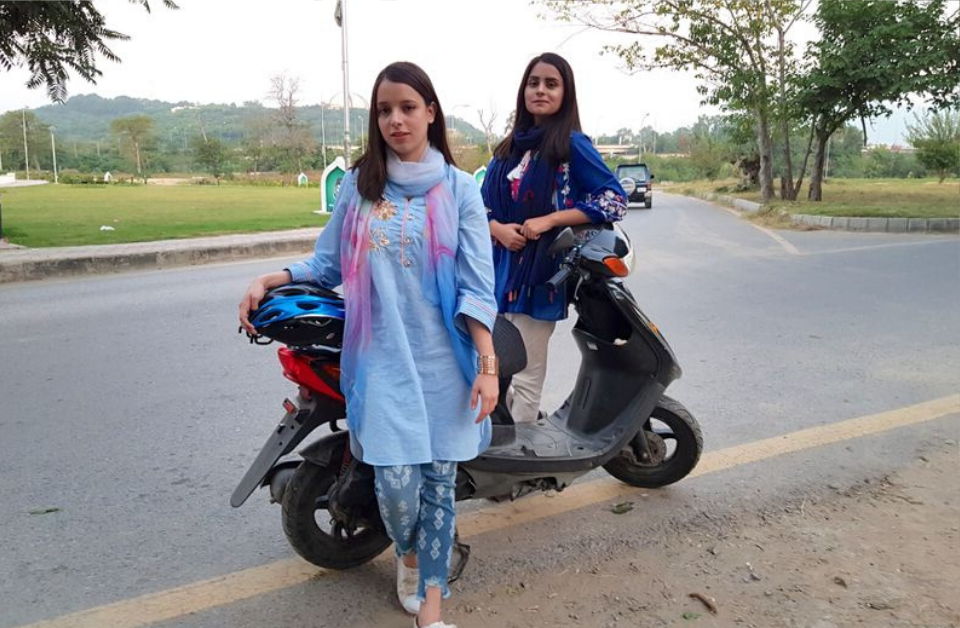 Scooty girls in Rawalpindi are breaking stereotypes