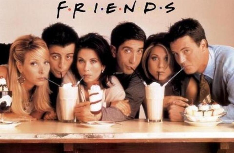 Friends is off Netflix