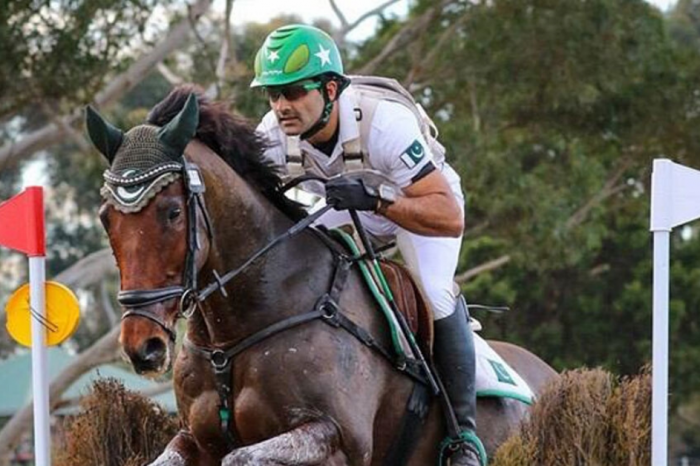 Pakistan equestrian, Usman Khan, is the first rider to qualify for Olympics 2020!