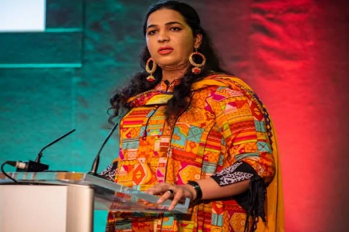 Nayab Ali, a Pakistani transgender activist, has won the Gala Award in Dublin