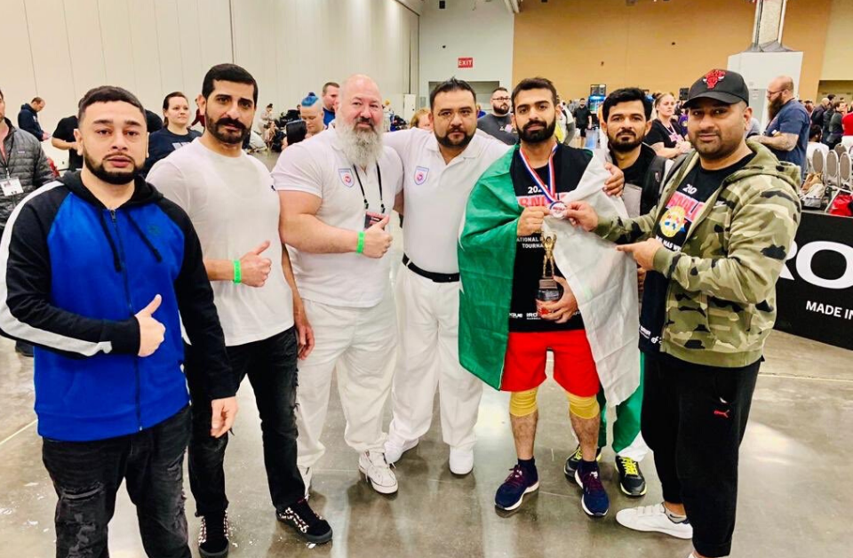 Pakistani wrestler, Salman Aqeel Butt wins silver medal at 32nd World Arnold Classic Mas-Wrestling Sports Festival