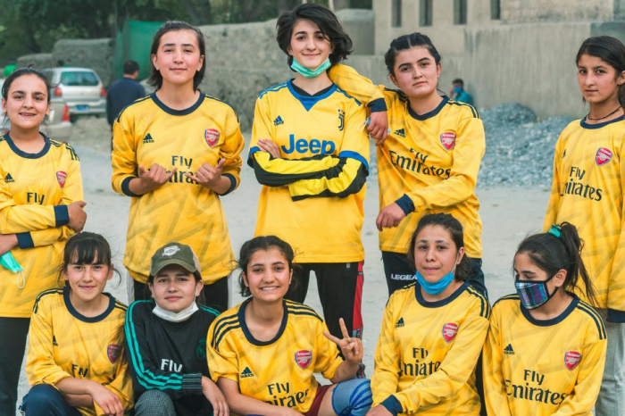 Is Pakistan's 'Mountain Girl Premiere League' the future for football in Pakistan?