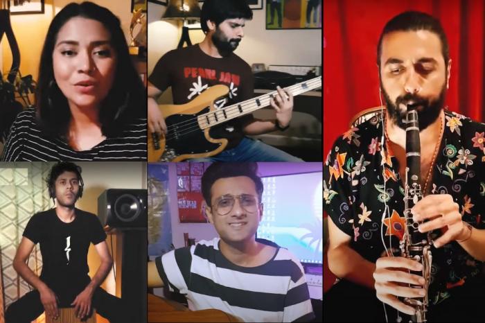 Jasim Haider & The Pindi Boys & A Turkish Musician
